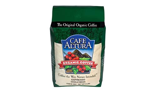 Cafe Altura Whole Bean Organic Coffee