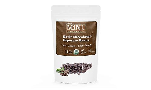 Product 13 MiNU Organic Dark Chocolate Espresso Coffee Beans