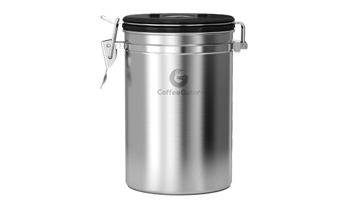 Product 2 Coffee Gator Stainless Canister