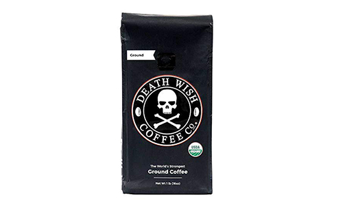 Product 2 Death Wish Organic Ground Coffee