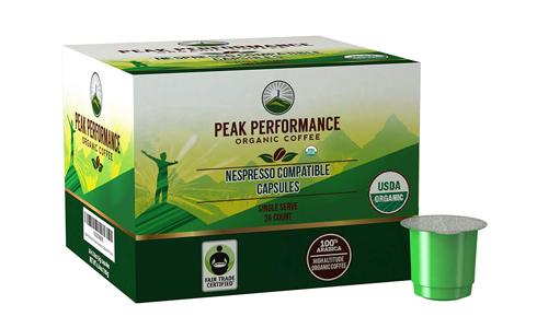 Product 2 Peak Performance Organic Nespresso