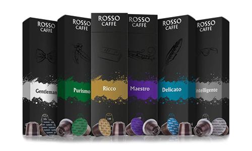 Product 9 Rosso Coffee Capsules for Nespresso Original