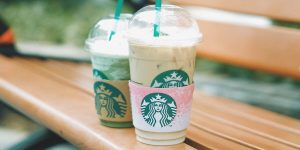 different flavors of Starbucks frappuccino