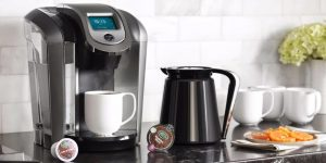 coffee makers with capsules on the side