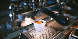 making espresso using an espresso machine