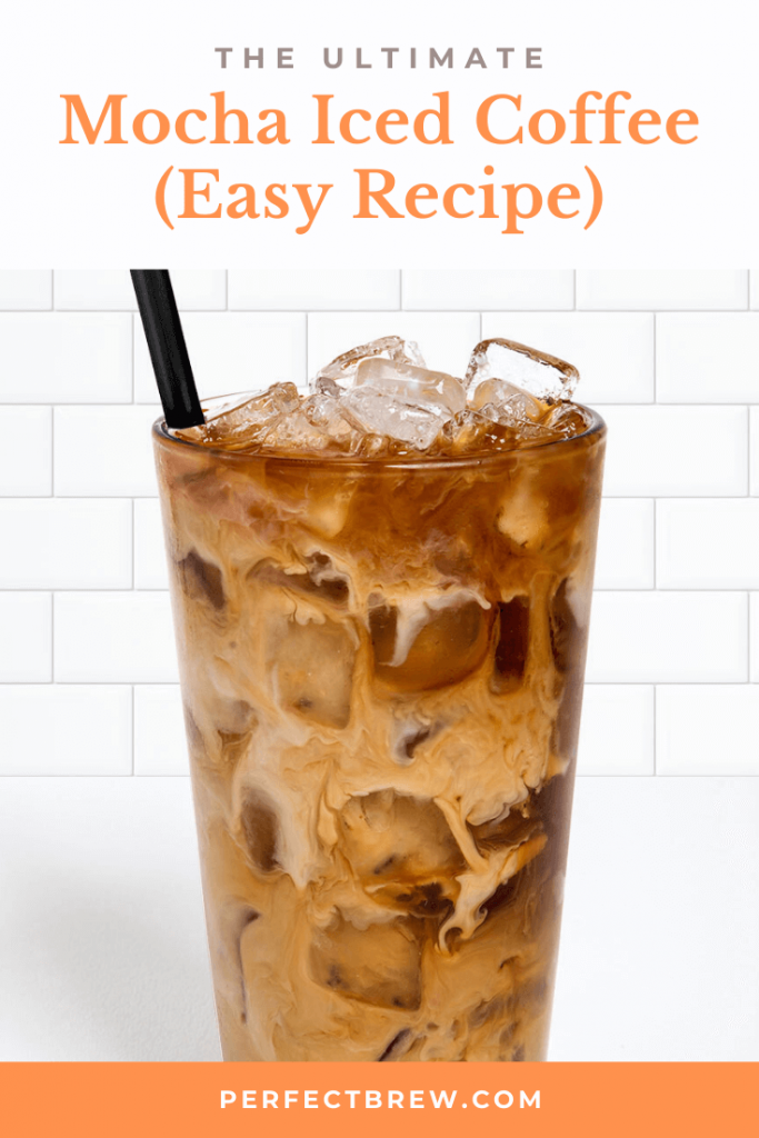 How To Make Mocha Iced Coffee Easy Coffee Recipe Perfect Brew