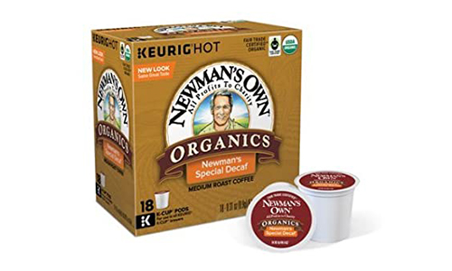Product 3 Newmans Own Organics Decaf