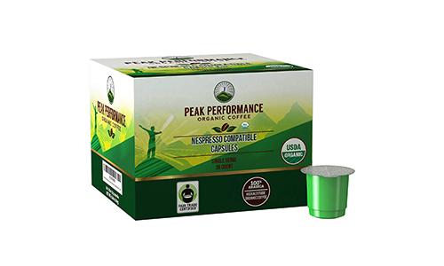 Product 6 Peak Organic Nespresso Capsules