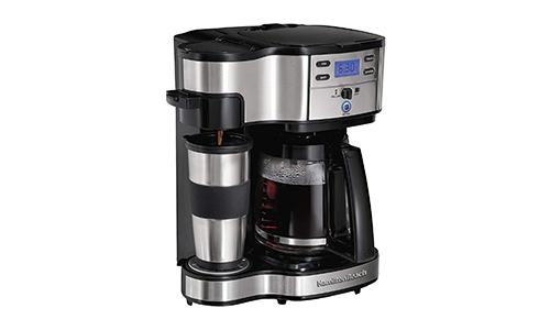Product 3 Hamilton Beach 2 Way Coffee Maker Perfect Brew