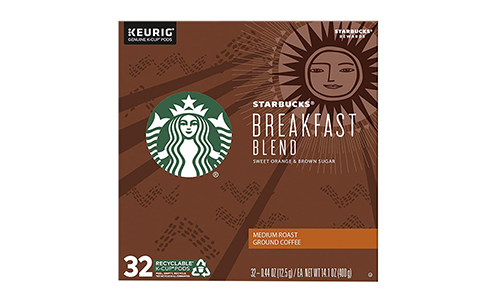 Product 9 Starbucks Medium Roast K-Cup