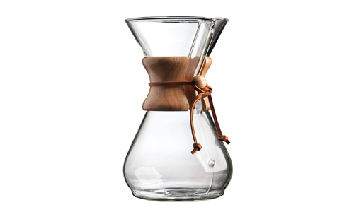 Product 13 Chemex Pour-Over Glass Coffeemaker