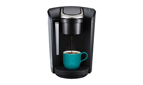 Product 8 Keurig K Select Black Coffee Maker, Single Serve K-Cup Pod Coffee Brewer, With Strength Control and Hot Water