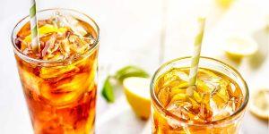 Tasty Ice Cold Lemon Tea