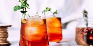 Iced Rose Petal Tea