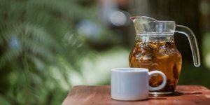 Refreshing green tea