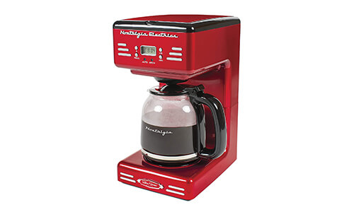 Product 1 Nostalgia 12-Cup Programmable Coffee Maker XS