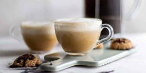 Hot Vanilla Latte Coffee
