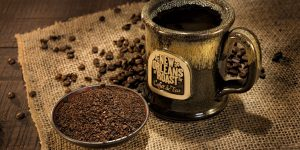 New Orleans Roast ground coffee beans