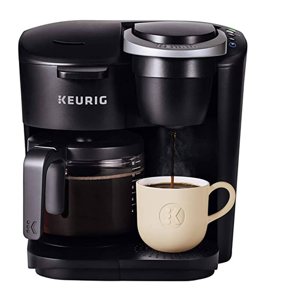 K-Duo Essentials Single Serve _ Carafe Coffee Maker