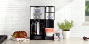 12-Cup Coffeemaker and Single-Serve Brewer