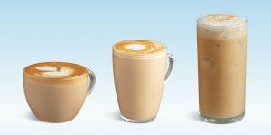 creamy coffee cappuccino