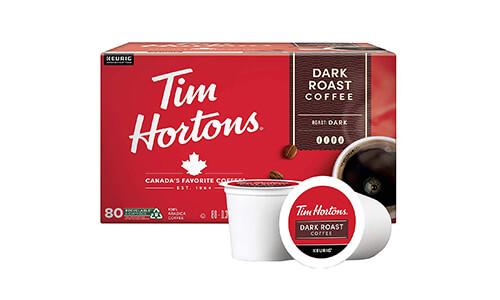 Product 1 Tim Hortons Dark Roast Coffee