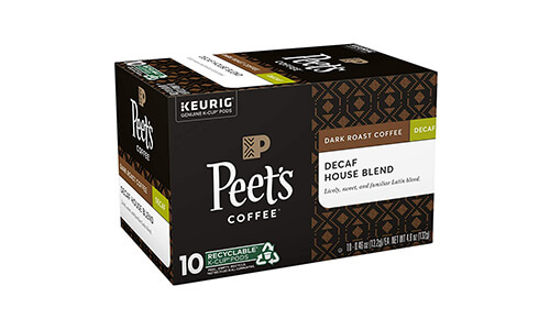 Product 10 Peet's Coffee Decaf House Blend K-Cup