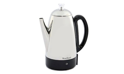 Product 6 West Bend Stainless Steel Coffee Percolator