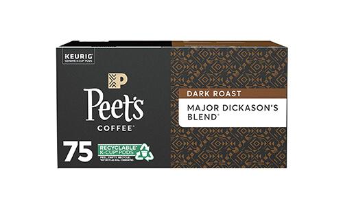 Product 8 Peet's Coffee Major Dickason_s Blend K-Cup