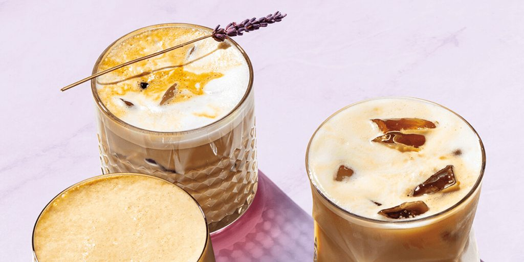 Iced Honey Lavender Latte