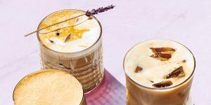 Iced Honey Lavender Latte