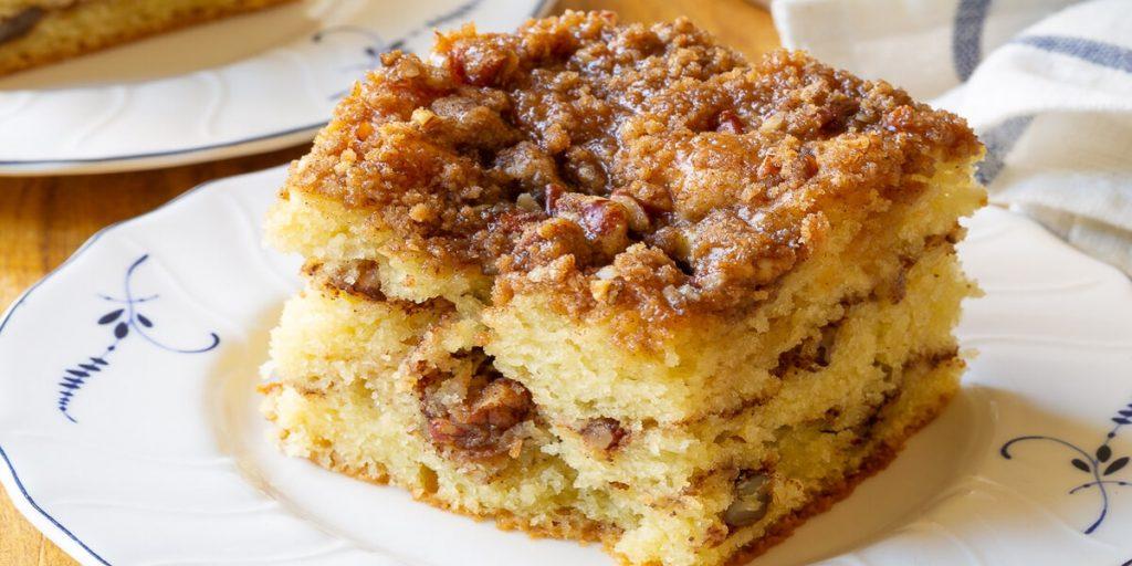 A dessert on a plate