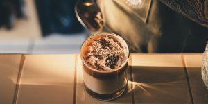 Creamy white cold coffee