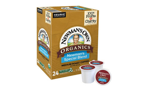 Newmans Own Special Blend Keurig Pods