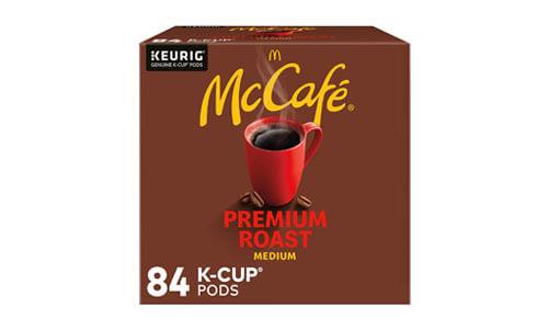 McCafe Premium Medium Roast K-Cup Coffee Pods