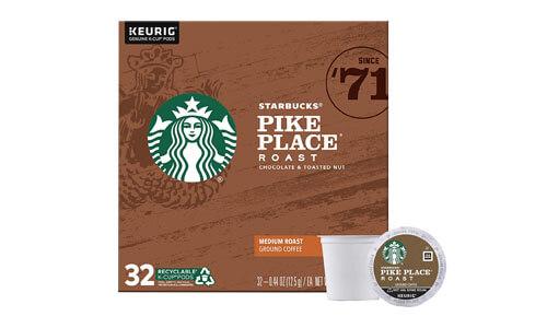Starbucks Pike Place Roast Coffee Pods