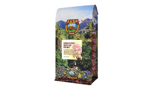 Java Planet Organic Coffee Beans Decaf