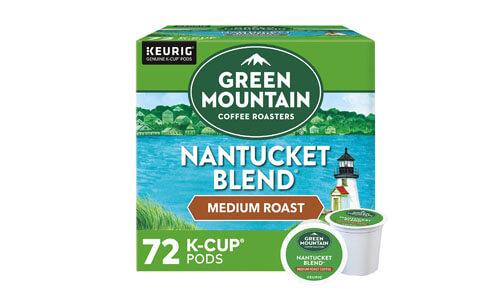 Green Mountain Nantucket Blend Pods
