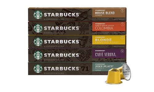 Product 3 Starbucks By Nespresso Best Seller Variety Pack