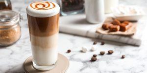 French Caramel Brulee Latte Recipe