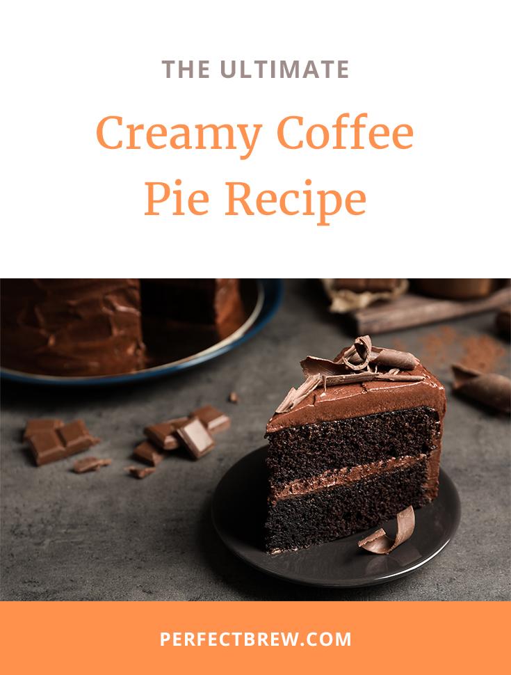 Creamy Coffee Pie Recipe