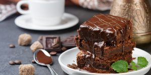 fudgy-coffee-brownies-with-mocha-frosting