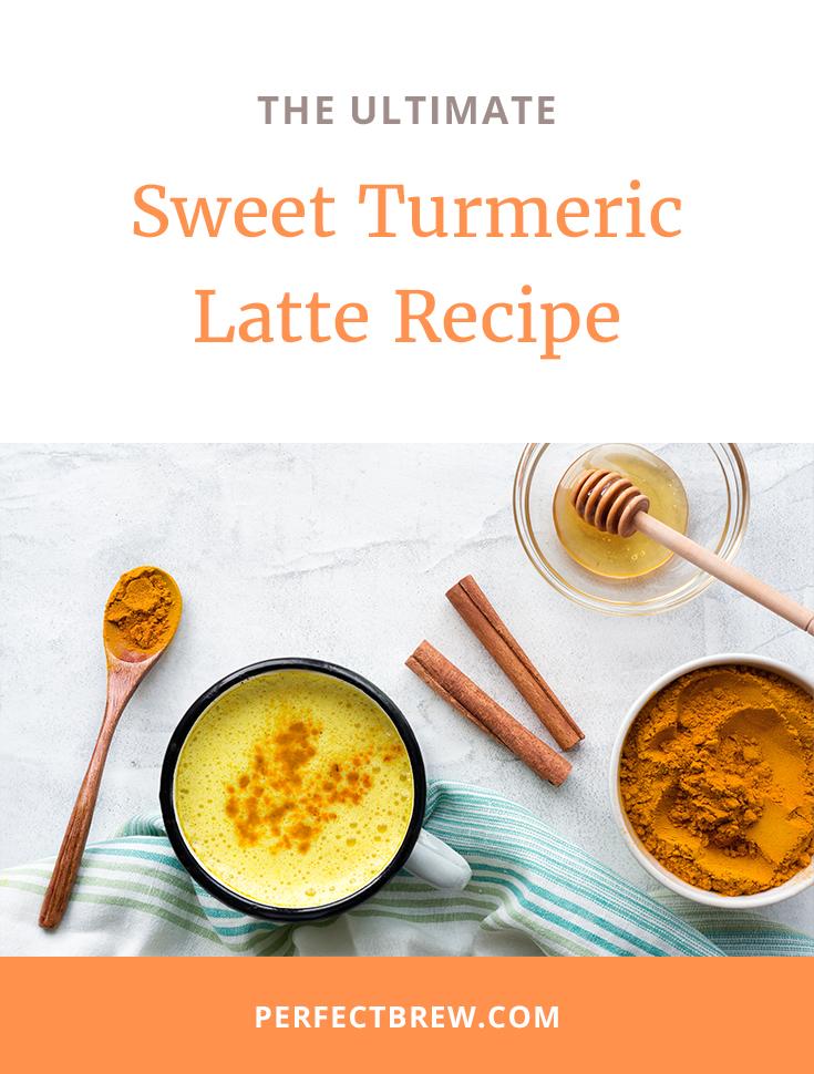 Sweet Tumeric Latte Recipe