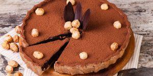 Coffee Hazelnut Pie Dessert Recipe