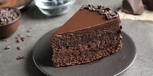 Decadent Mocha Chocolate Cake Dessert