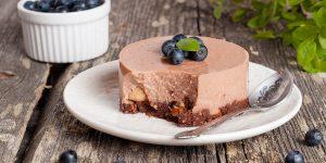 Mini Chocolate Coffee Cheesecakes Dessert