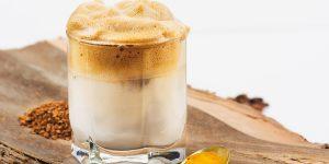 Turmeric Iced Coffee Latte Coffee