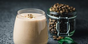 Banana Coffee Oatmeal Smoothie Recipe