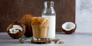 Dark Chocolate Coconut Iced Coffee Recipe