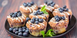 Easy Blueberry Coffee Cake Muffins Recipe
